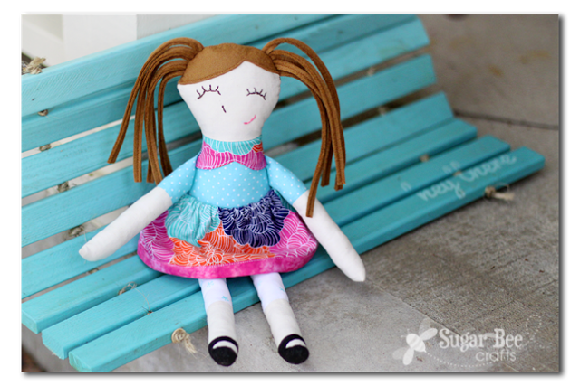 Ruby Lou Doll Pattern review