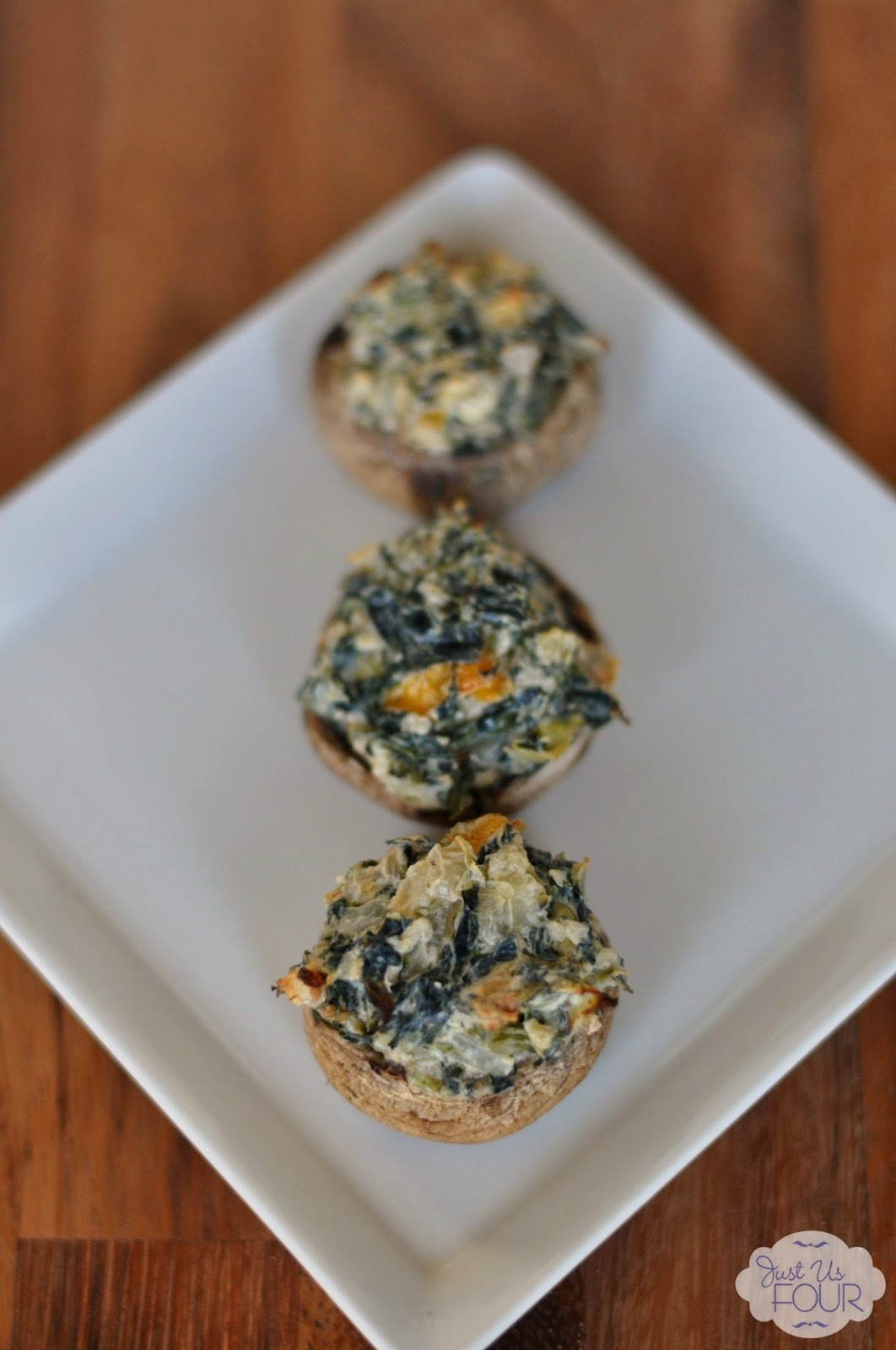 {Food Contributor} Spicy Spinach Artichoke Mushrooms ...
