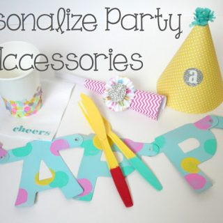 Personalize Party Accessories