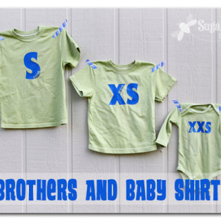Big Brothers and Baby Shirt Set