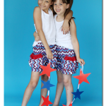 Bubble Shorts, Patriotic Style!