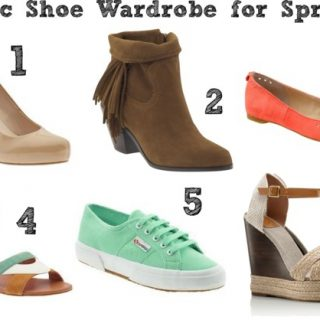 Basic Shoe Wardrobe for Spring