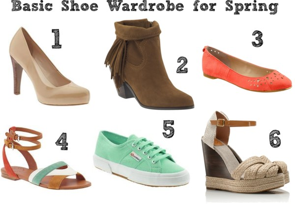 Basic Shoes for Spring
