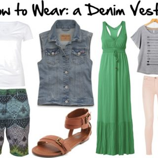 How to Wear: a Denim Vest