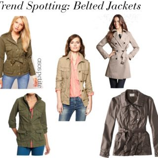Trend Spotting- Belted Jackets