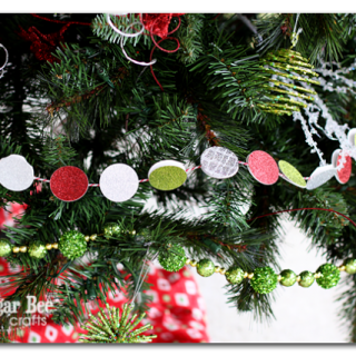 Christmas+tree+garland+glittler