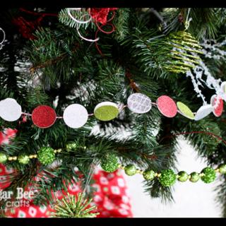 Christmas+tree+garland+glittler