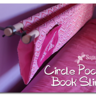Book Sling with a Circle Pocket