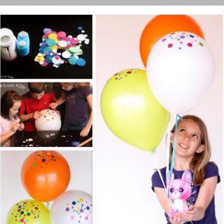 Confetti+balloons