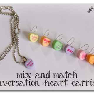 Conversation+heart+earrings