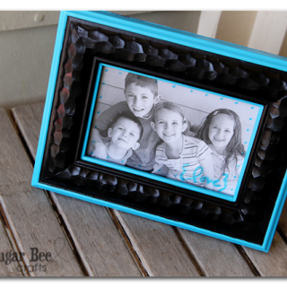 Painted Frame – Mother's Day Craft – with LIVE video