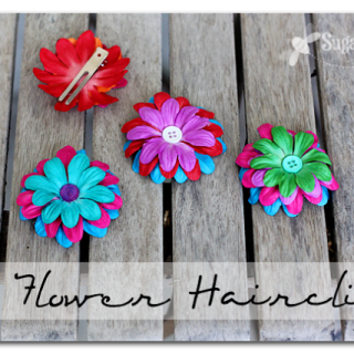 Diy+flower+hairclips