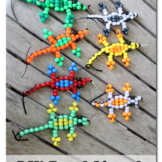 Diy+pony+bead+lizard+tutorial+pattern