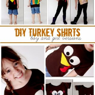 Diy+turkey+shirts+for+boys+and+girls
