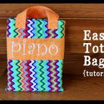 Easy Tote Bag – Tutorial!