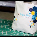 Blog Logo Embroidered Bag