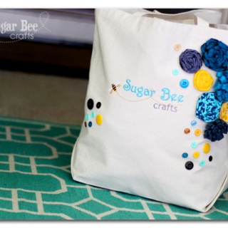 Blog Logo Embroidered Bag