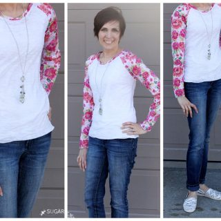 Floral+lane+raglan+tee+joann+floral+fabric