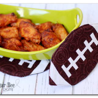 Football Pot Holder