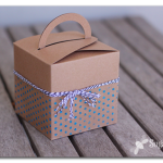 Glitter PolkaDot Embellished Gift Box