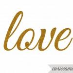 Carissa Miss: Glitter Gold Printable