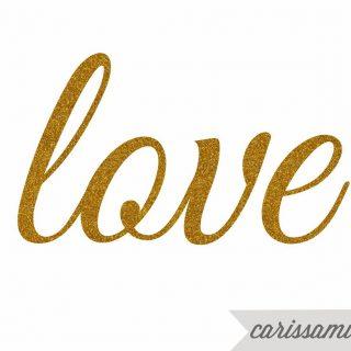 Glitter+love