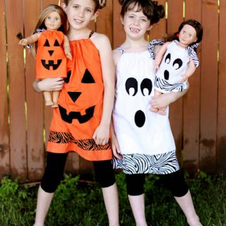 Halloween+matching+girl+and+doll+dress+outfits