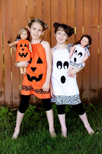 Halloween Doll Dresses No Sew Sugar Bee Crafts