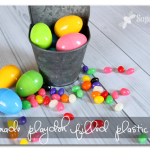 Homemade Playdoh-Filled Plastic Eggs