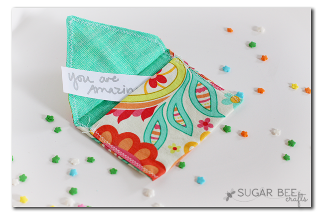 Fabric envelopes sugar bee crafts for Easy crafts for beginners