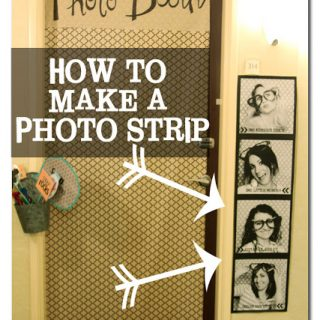 How+to+make+a+giant+photo+strip+for+cheap
