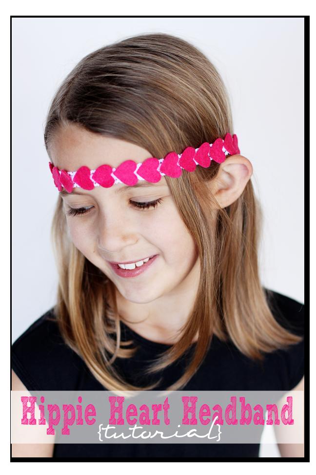 Heart Hippie Headbands A How To Tutorial Sugar Bee Crafts