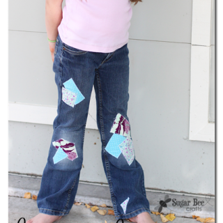 How+to+make+cute+patched+jeans