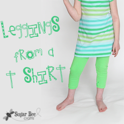 Legging from a T Shirt