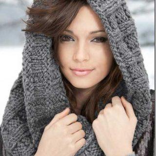 Infinity scarf knitting pat thumb