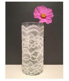 Lace+vase