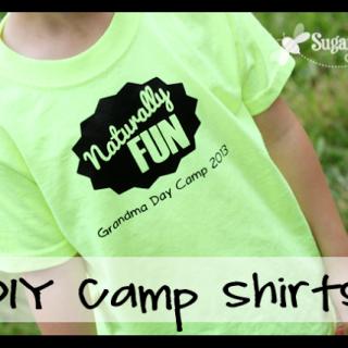 DIY Camp Shirts