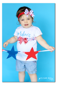 make your own ribbon personalized shirt