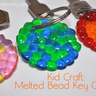 Melted Bead Keychains – Kid Craft Contributor