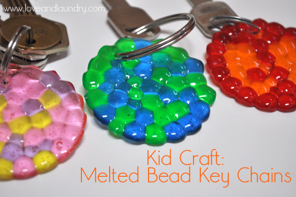 how to make keychains at home