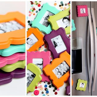 Mini Frame Fridge Magnets