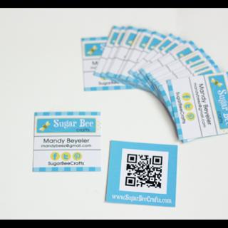 Nano Business Cards