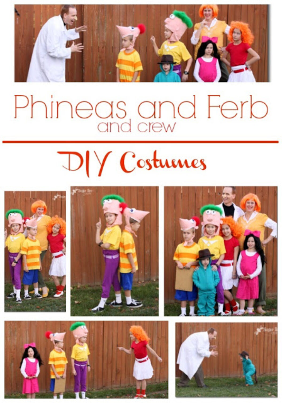Ferb Images halloween family costume crafts | diy phineas and ferb costumes