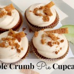 Apple Crumb Pie Cupcakes – Haley's Daily Blog