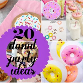 20 Donut Party Ideas