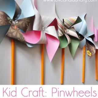 Pinwheels – Kid Craft Contributor