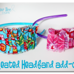 Pleated Headband Add-On