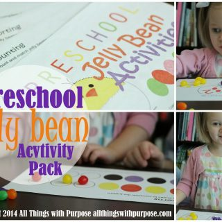 Jelly Bean Printable Pack {Preschool Contributors}