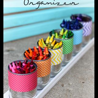 Rainbow+crayon+organizer