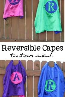 Reversible Capes – Tutorial!